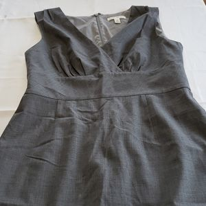 EUC Banana Republic Gray Dress Size 8